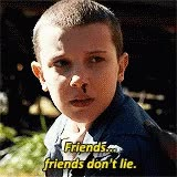 Watch Eleven Friends GIF on Gfycat. Discover more millie bobby brown GIFs on Gfycat
