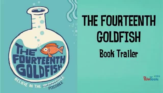 The Fourteenth Goldfish Book Trailer GIFs