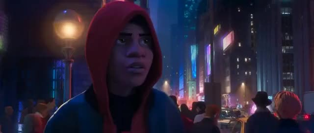 Watch this trending GIF on Gfycat. Discover more 2018, 3D, 3Danimation, Hero, Spider-ManIntoTheSpiderverse, Spider-ManNoir, Spider-ManRoguesGallery, Spiderman, Spiderverse, Villain, animation, film, gif, milesmorales, sony, spider-man, superhero, superheroesvsvillians, superherofights, tail GIFs on Gfycat