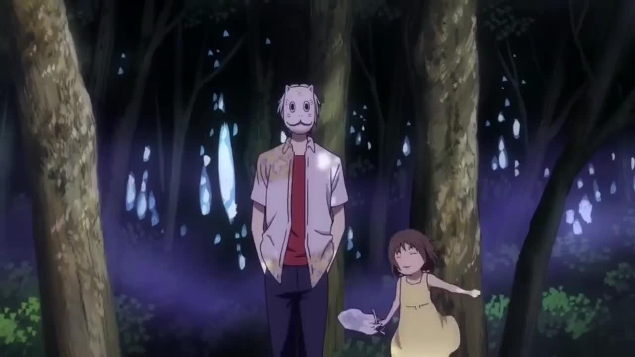 Hotarubi No Mori E Into The Forest Fireflies Light Wallpaper