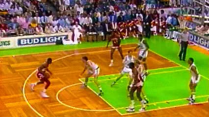 Watch and share Dominique Wilkins — Atlanta Hawks GIFs by Off-Hand on Gfycat