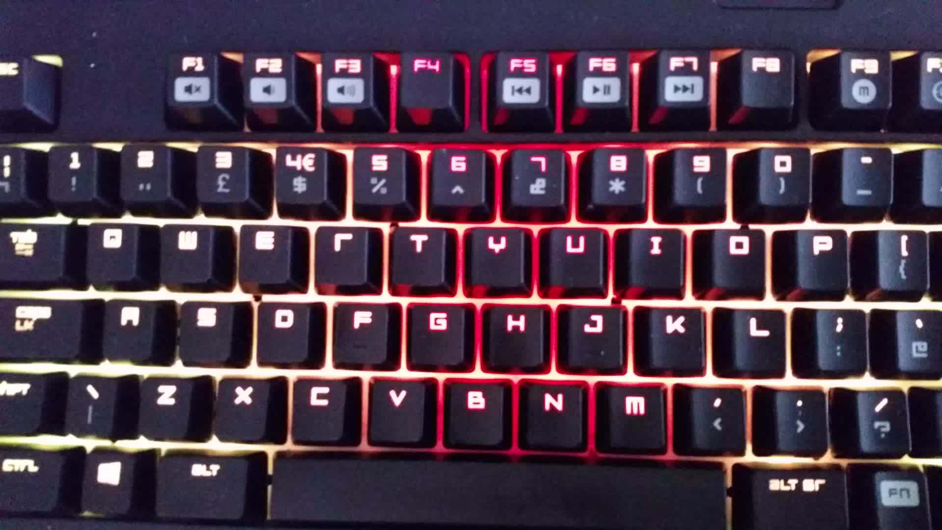 mechanicalkeyboards, Loving my new keyboard! [Razer Blackwidow Chroma] (reddit) GIFs