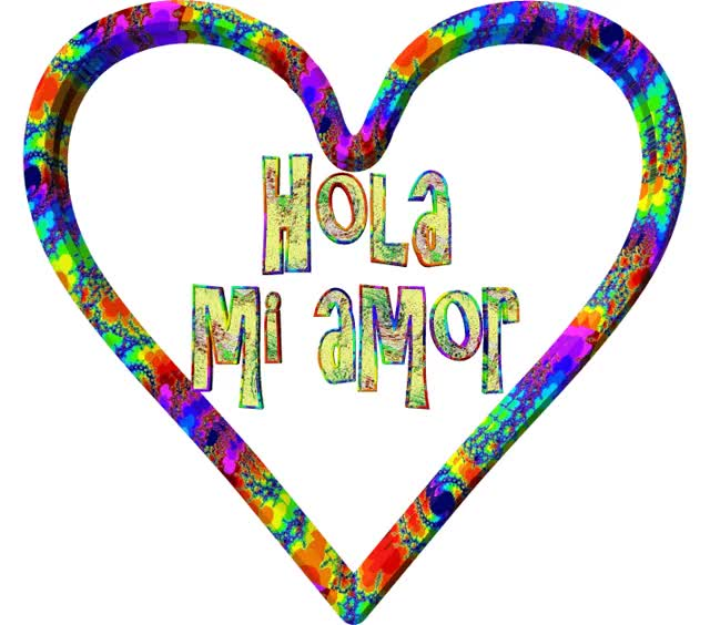 Watch and share Hola Mi Amor GIFs on Gfycat