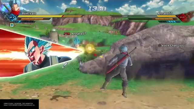 Dragon ball Xenoverse 2 : Future Trunks Combo Montage/Guide GIF