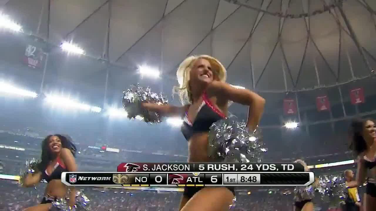 football, nfl, Atlanta Falcons cheerleader GIFs