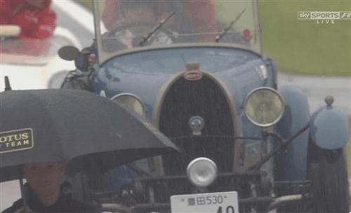 formula1gifs, 2014 Japan Rainy driver parade (reddit) GIFs