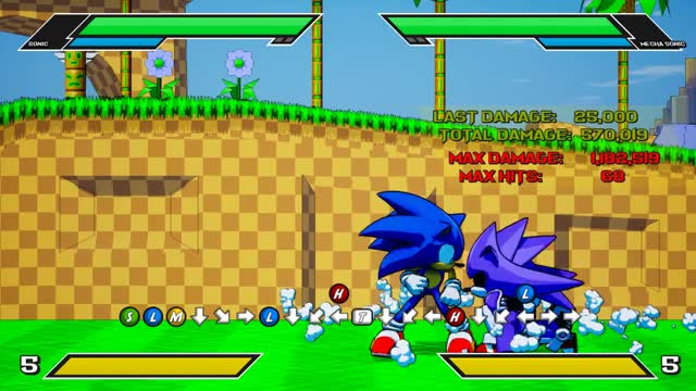 Watch and share Sonic The Fighters 2 Is Pretty Fun GIFs on Gfycat