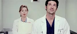Watch and share Christina Yang GIFs and Derek Shepherd GIFs on Gfycat