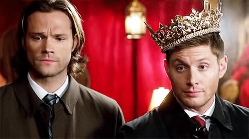 Watch and share Jared Padalecki GIFs and Jensen Ackles GIFs by Squirrel on Gfycat