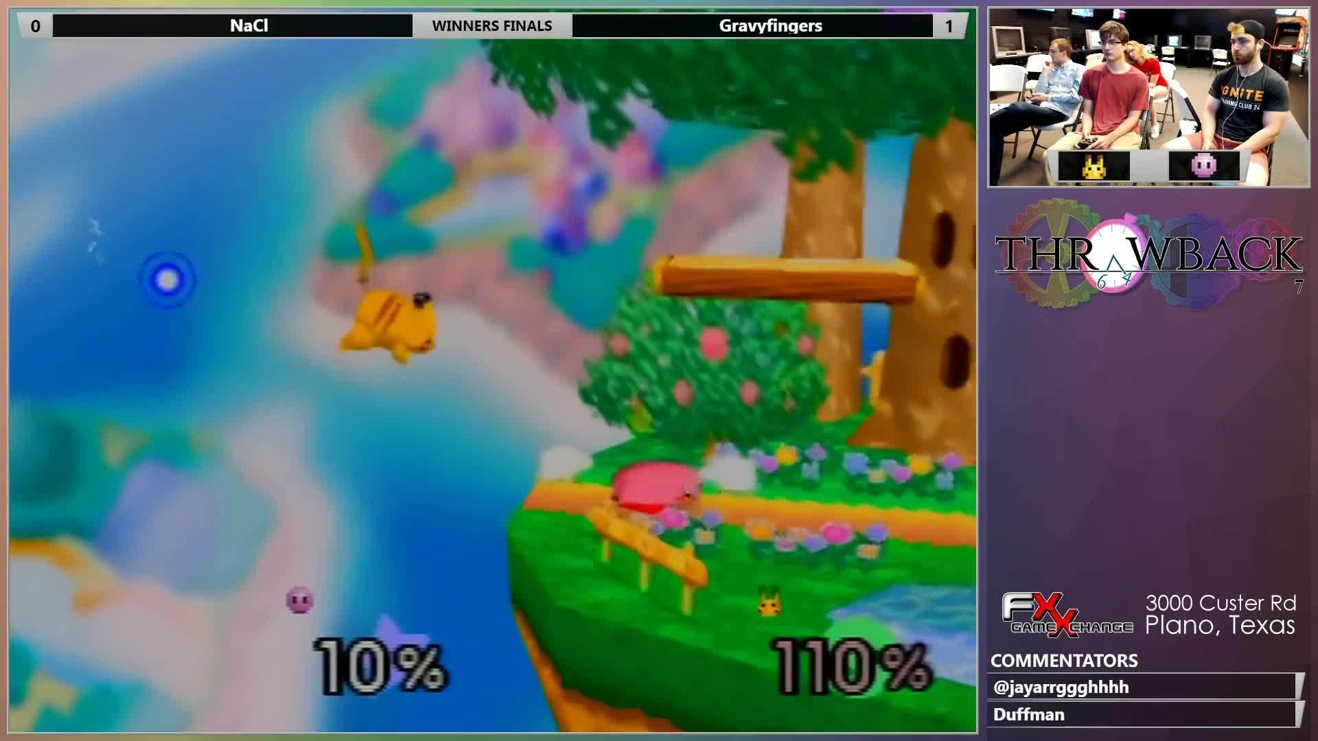 melee, pm, project, TB 7 - Gravyfingers (Pikachu) vs NaCl (Kirby) Winners Finals - SSB64 GIFs