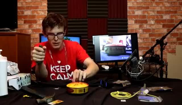 Watch and share Idubbbz Surstromming Vomit GIFs on Gfycat