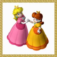 Watch Princess Peach and Princess Daisy GIF on Gfycat. Discover more related GIFs on Gfycat
