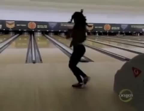 Watch Bowling GIF on Gfycat. Discover more BGC, Bowling, Tiara, Tiara hodge GIFs on Gfycat