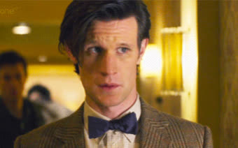 11th doctor, anxiety, awkward, doctor who, eleventh doctor, matt smith, nervous, paranoia, shifty eyes, stressed out, uncomfortable, Doctor Who Awkward GIFs