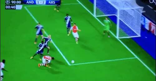 Watch and share Lukas Podolski GIFs and Arsenal GIFs on Gfycat