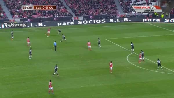 Lazar Marković (Benfica) Great Goal!!! (reddit)