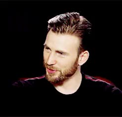 Watch this GIF on Gfycat. Discover more by nicole, chris evans, evansedit, gifs, interviews, marvelcast, marveledit GIFs on Gfycat