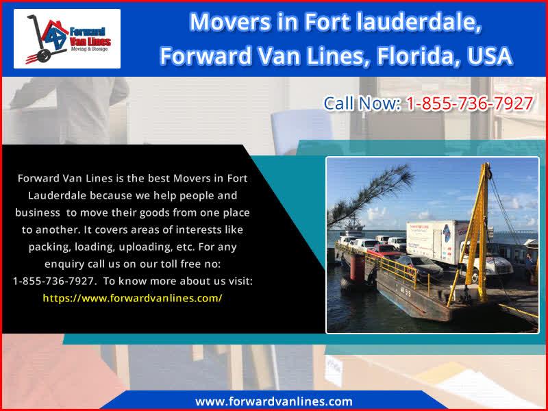 Choose Best Movers In Fort Lauderdale Forward Van Lines