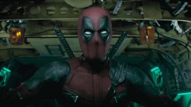Watch this trending GIF by GIF Queen (@ioanna) on Gfycat. Discover more deadpool, don't, entrance, epic, fight, funny, hero, never, no, not, red, reynolds, ryan, sequel, strong, super, superhero, tough, x GIFs on Gfycat