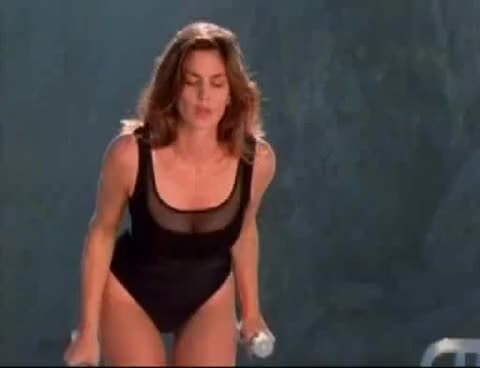 Watch and share Cindy Crawford GIFs on Gfycat