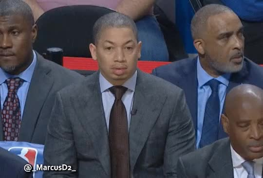 Watch and share Tyronn Lue Always Looking Lost. GIFs by MarcusD on Gfycat