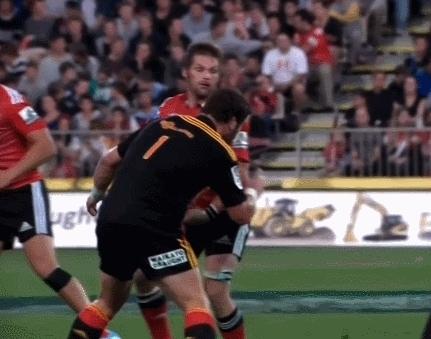 HereComesTheBoom, herecomestheboom, [GIF] Hit off the Ball | McCaw vs. Mackintosh (reddit) GIFs