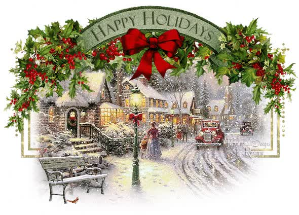 Watch and share Animated Christmas House Image GIFs on Gfycat