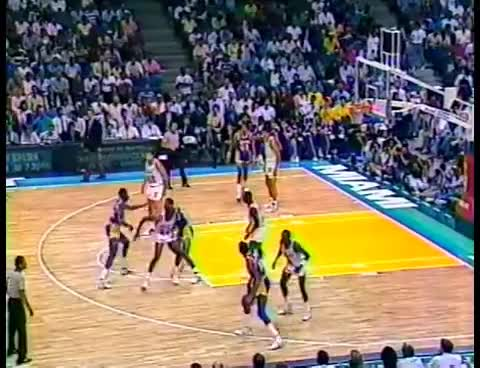 Lakers @ Heat, 1989 (1st matchup) GIFs