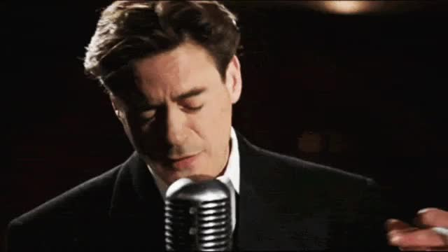 dan dark, rdj, robert downey jr, sing, singing, the singing detective, robert downey jr singing GIFs