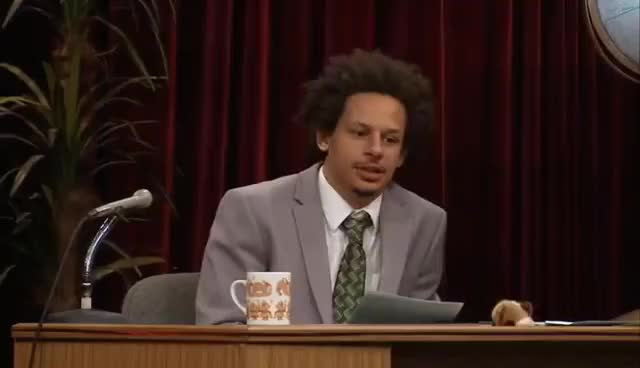 Watch and share Eric Andre Gets Ptsd GIFs on Gfycat