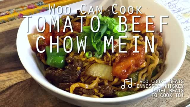 Watch and share Woo Can Cook | Tomato Beef Chow Mein GIFs by WooCanCook on Gfycat