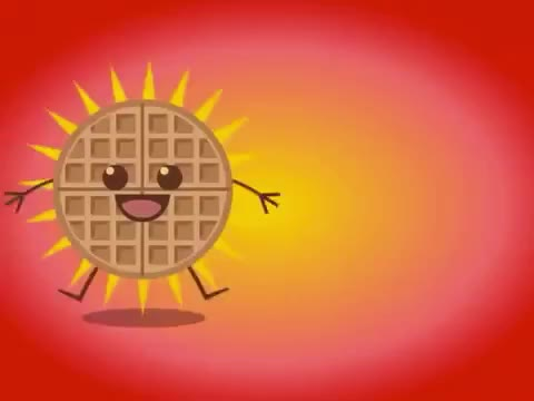 GIF Brewery, animated, bfast, breakfast, nationalwuffleday, sweet, tasty, waffle, waffles, yummy, Waffles animation GIFs