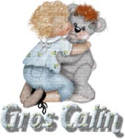Watch and share Gros Calin animated stickers on Gfycat
