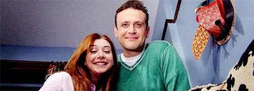 Watch and share Alyson Hannigan GIFs and Jason Segel GIFs on Gfycat