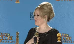 Watch this adele GIF on Gfycat. Discover more adele, golden globes GIFs on Gfycat