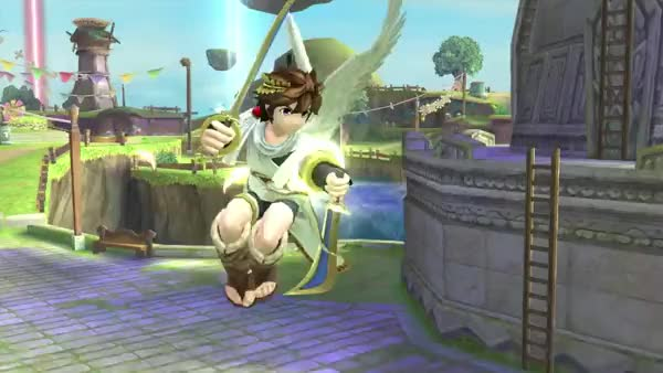 Watch and share SSB4 Pit GIFs on Gfycat