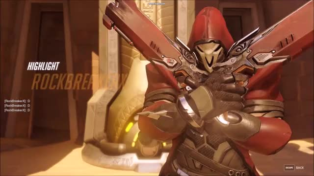 Every Reapers Dream! GIF by Overwatch Clips (@rockbreakerx