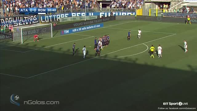 Watch and share (www.nGolos.com) Atalanta 0-1 AS Roma - Kolarov 31' GIFs on Gfycat