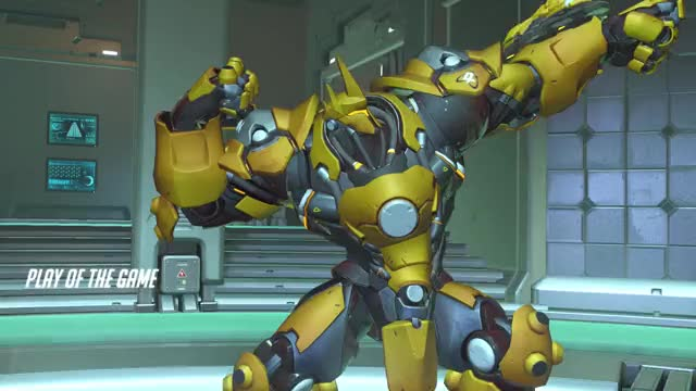 Watch and share Reinhardt Gameplay GIFs by strongaschicken on Gfycat