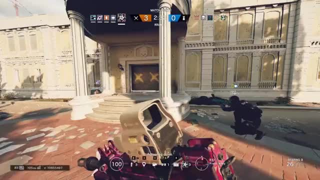 Watch and share Rainbow Six Siege GIFs and Wallbang GIFs by bug_injection on Gfycat