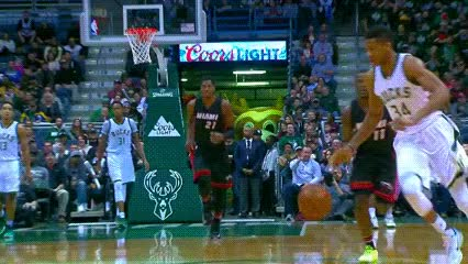 Watch Giannis Antetokounmpo — Milwaukee Bucks GIF by Off-Hand (@off-hand) on Gfycat. Discover more 011317 GIFs on Gfycat