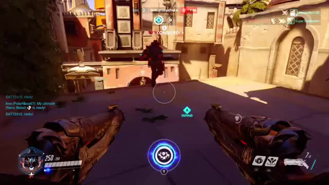 Watch and share Overwatch GIFs and Teamkill GIFs by romans828 on Gfycat