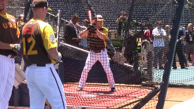 Watch and share Clint Frazier BP GIFs by Baseball America on Gfycat