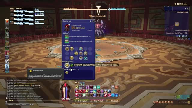 Watch and share FINAL FANTASY XIV 7 3 2018 7 06 09 PMTrim GIFs by alzan27 on Gfycat