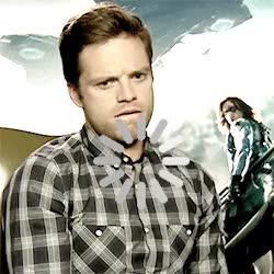 Watch the most important gifset on the internet GIF on Gfycat. Discover more bucky barnes, marvel, marvel cast, my edit, sebastian stan GIFs on Gfycat