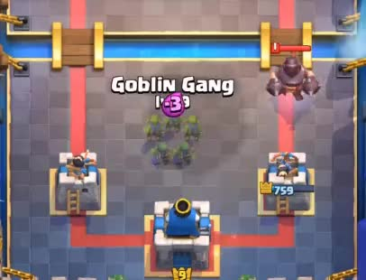 Watch and share Mega Knight Vs Goblin Gang GIFs by Clash World on Gfycat