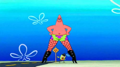 Watch and share Spongebob Squarepants Wallpaper Entitled Patrick & Spongebob In 'The Spongebob Squarepants Movie' GIFs on Gfycat