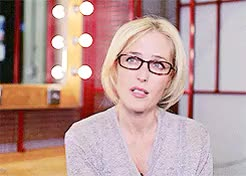 Watch and share Gillian Anderson GIFs and Ga Interview GIFs on Gfycat