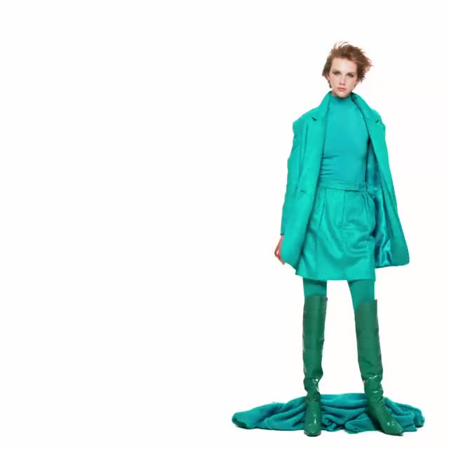 Watch and share Color Therapy. Take A Closer Look At The Striking Max Mara Fall Winter 2019 C... GIFs on Gfycat