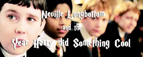 Watch and share Neville Longbottom GIFs and Buhtterbeer GIFs on Gfycat